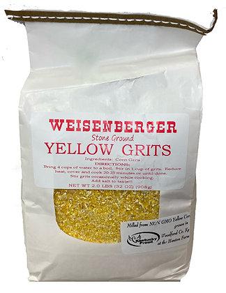 Weisenberger Stone Ground Yellow Grits