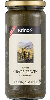 Krinos Grape Leaves (16 oz)