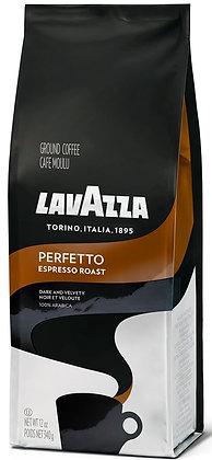 LavAzza Perfetto Espresso Roast Ground Coffee