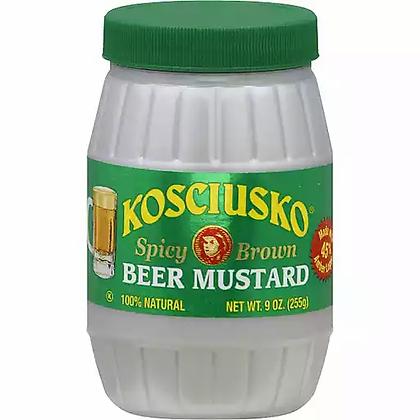 Kosciusko Spicy Brown Beer Mustard