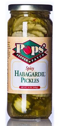 Pop's Spicy Habagardil Pickles