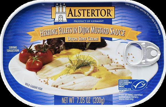 Alstertor Herring in Mustard Sauce