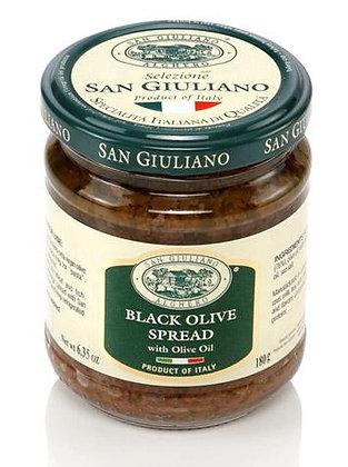 San Giuliano Black Olive Spread