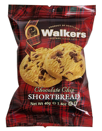 Walkers Chocolate Chip Cookies (1.2 oz)