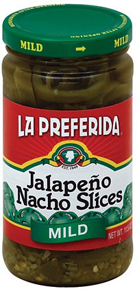La Preferida Mild Jalapeno Nacho Slices