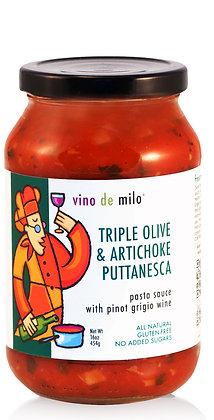 Vino de Milo Triple Olive Puttanesca