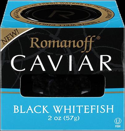 Romanoff Black Whitefish Caviar