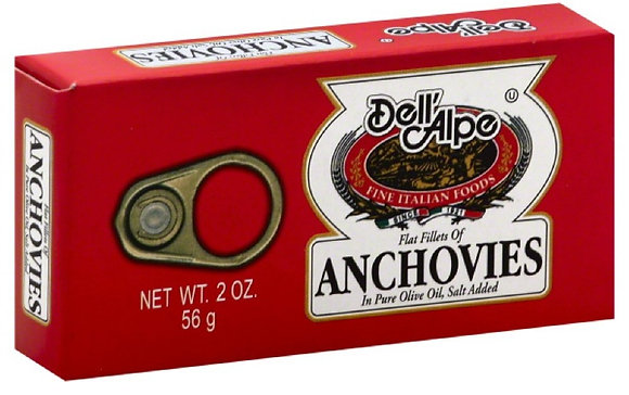 Dell 'Alpe Flat Anchovies
