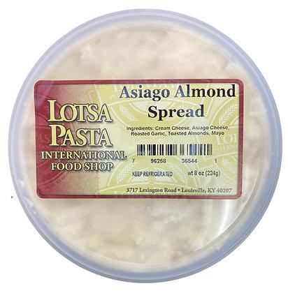 Asiago Almond Spread