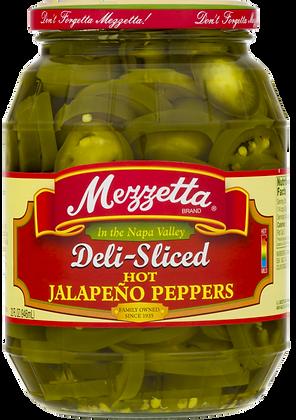 Mezzetta Deli-Sliced Hot Jalapenos (32 oz)