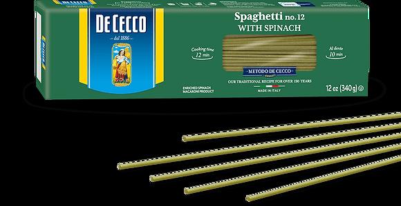 DeCecco Spinach Spaghetti #12