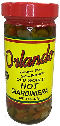 Orlando Hot Giardiniera (8 oz)