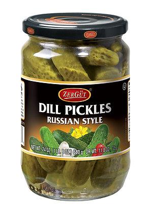 Zergut Russian Style Dill Pickles
