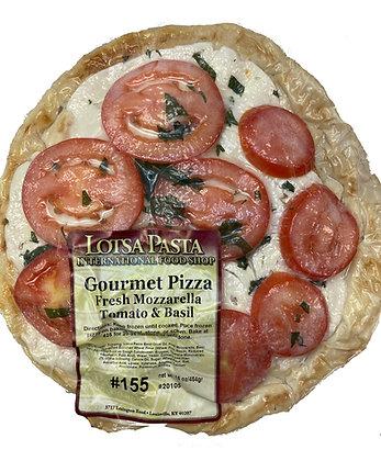 Fresh Mozzarella Gourmet Pizza