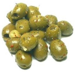Sicilian Spiced Olives (pitted)