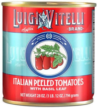 Luigi Vitelli Italian Style Peeled Tomatoes