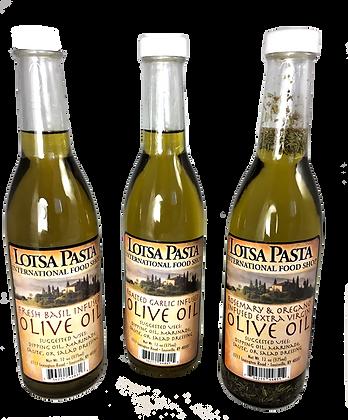 Lotsa Pasta Infused Olive Oils (3 ct.)