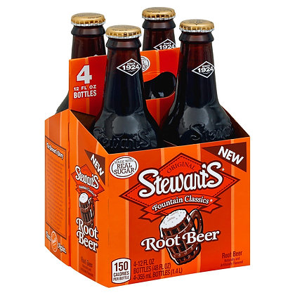 Stewart's Root Beer (4-pack)
