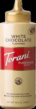 Torani White Chocolate Puremade Sauce
