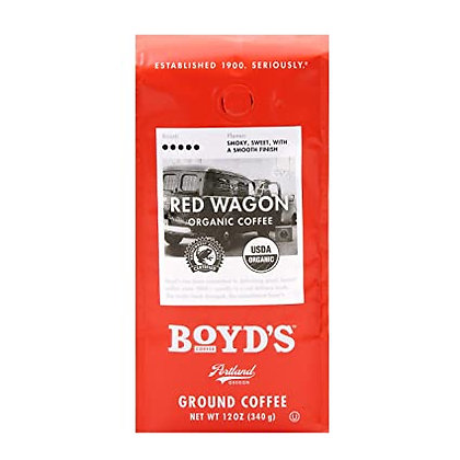 Boyd's Red Wagon Ground Coffee