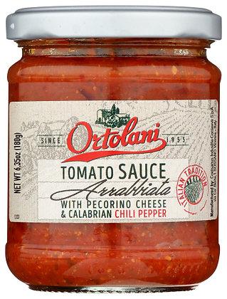 Ortolani Arrabbiata Tomato Sauce with Calabrian Peppers