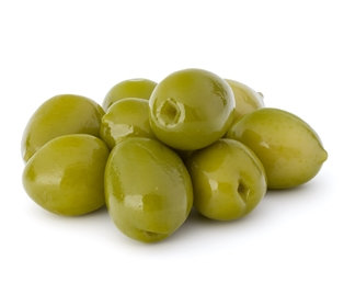 Greek Green Olives (pitted)