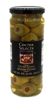 Cocina Selecta Pimiento Stuffed Queen Olives