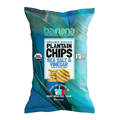 Barnana Sea Salt & Vinegar Plantain Chips