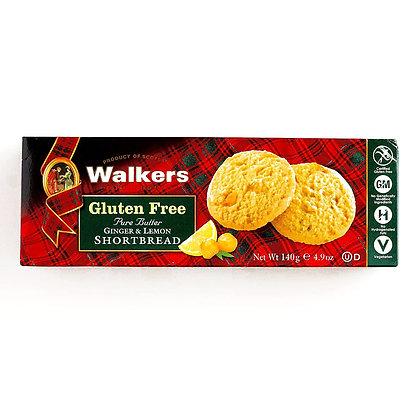 Walkers Gluten Free Ginger & Lemon Cookies
