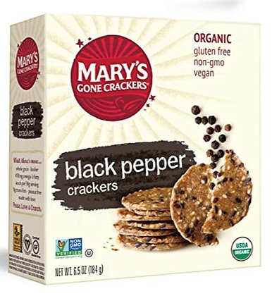 Mary's Black Pepper Super Seed Crackers