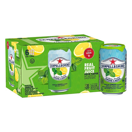 San Pellegrino Lemon & Mint (6 pack)