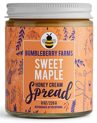 Bumbleberry Farms Sweet Maple Honey Cream Spread
