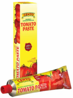 Cento Tomato Paste Tube