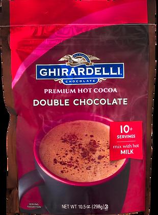 Ghiradelli Double Chocolate Hot Cocoa Mix