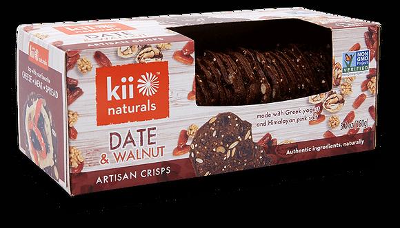 Kii Naturals Date & Walnut Artisan Crisps