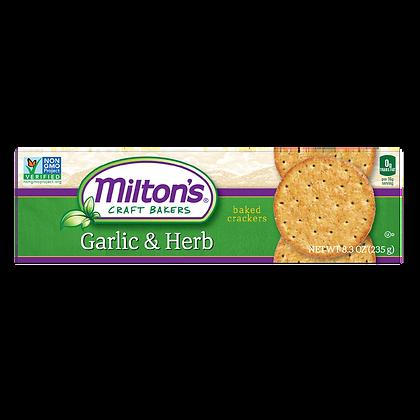 Milton's Garlic & Herb Crackers