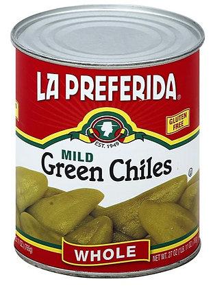 La Preferida Whole Green Chiles (28 oz)