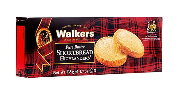 Walkers Shortbread Highlanders Cookies (4.7 oz)