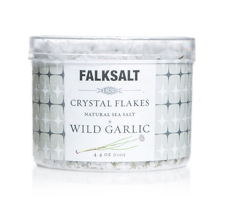 Falksalt Wild Garlic Sea Salt Crystal Flakes