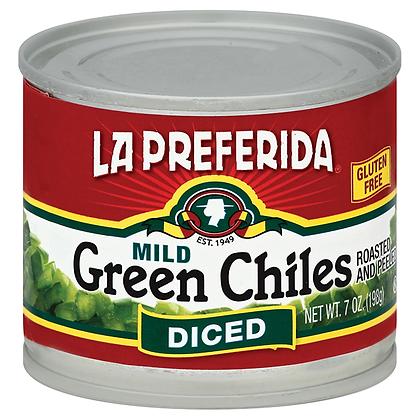 La Preferida Mild Diced Green Chiles