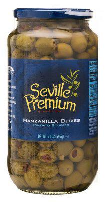 Seville Pimiento Stuffed Manzanilla Olives
