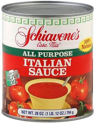 Schiavone's All Purpose Italian Sauce