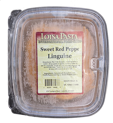 Sweet Red Pepper Linguine