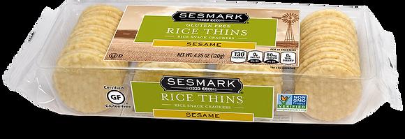Sesmark Sesame Rice Thins