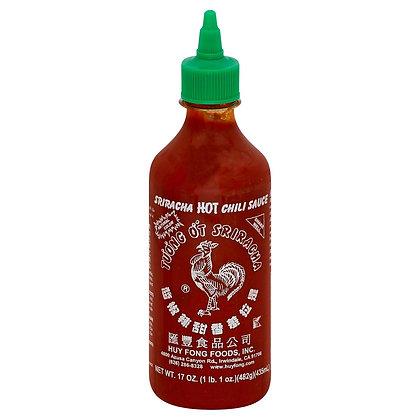Sriracha Hot Chili Sauce (17 oz)