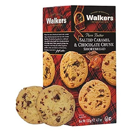 Walkers Salted Caramel & Chococlate Chip Cookies