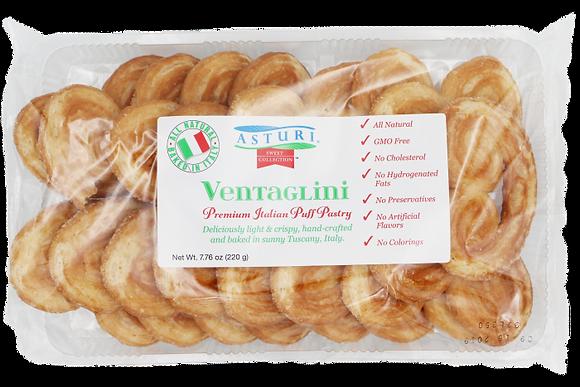 Asturi Ventaglini Puff Pastry
