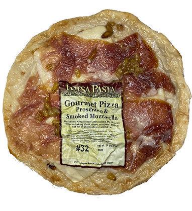 Prosciutto & Smoked Mozzarella Gourmet Pizza