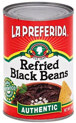 La Preferida Authentic Refried Black Beans