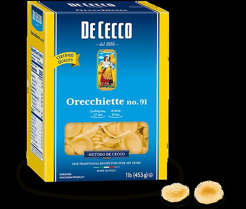 DeCecco Orecchiette #91
